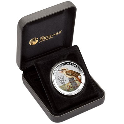 2016 1 oz Silver Coloured KOOKABURRA - World Money Fair